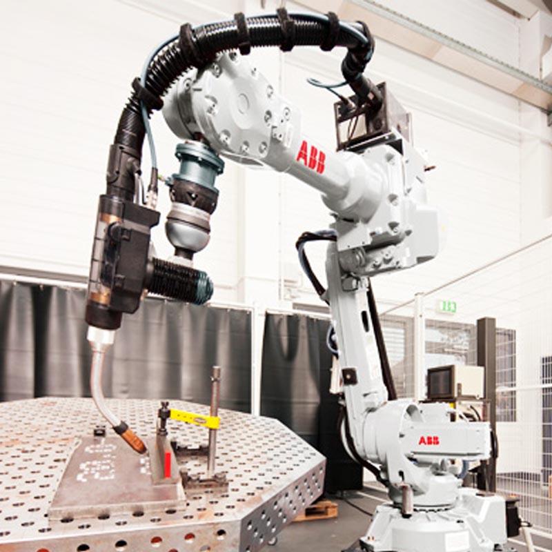 robotica e impianti taglio e saldatura